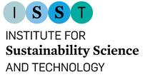 Logotip de l'Institut Universitari de Recerca en Ciència i Tecnologies de la Sostenibilitat (ISST) de la UPC
