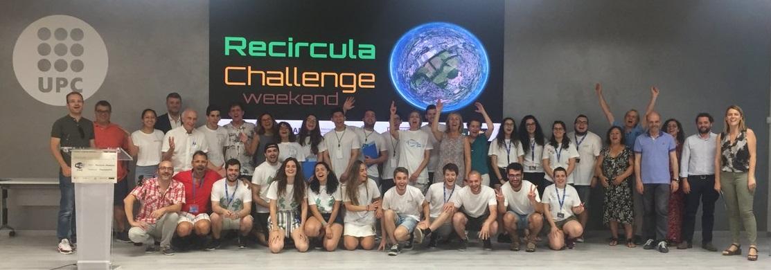 Equips de la 1a edicició del Recircula Challenge2019